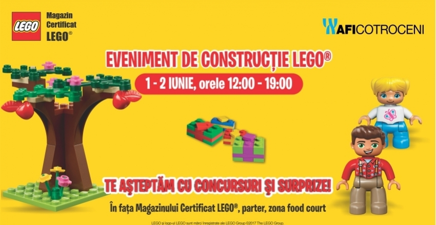 Lego construction event