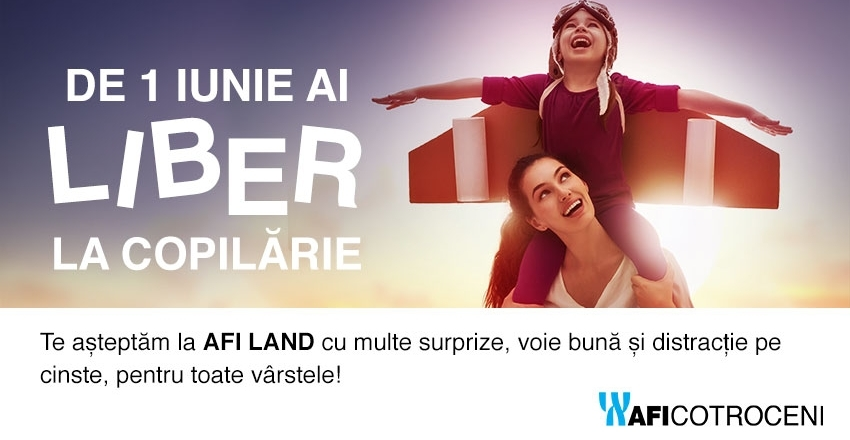 On 1st of June you have FREE ACCESS TO CHILDHOOD on AFI LAND!