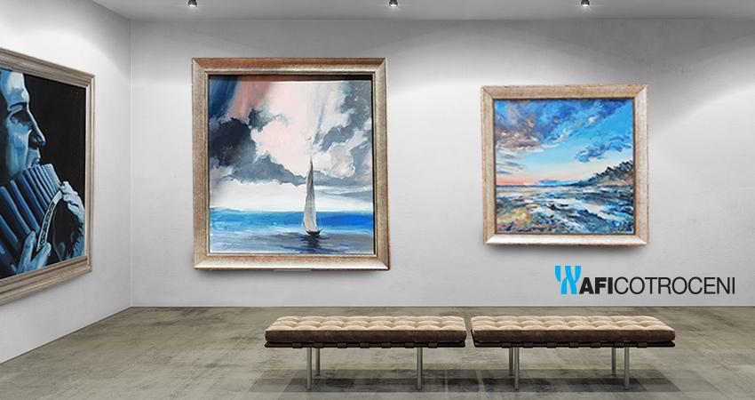 Contemporary art exhibition