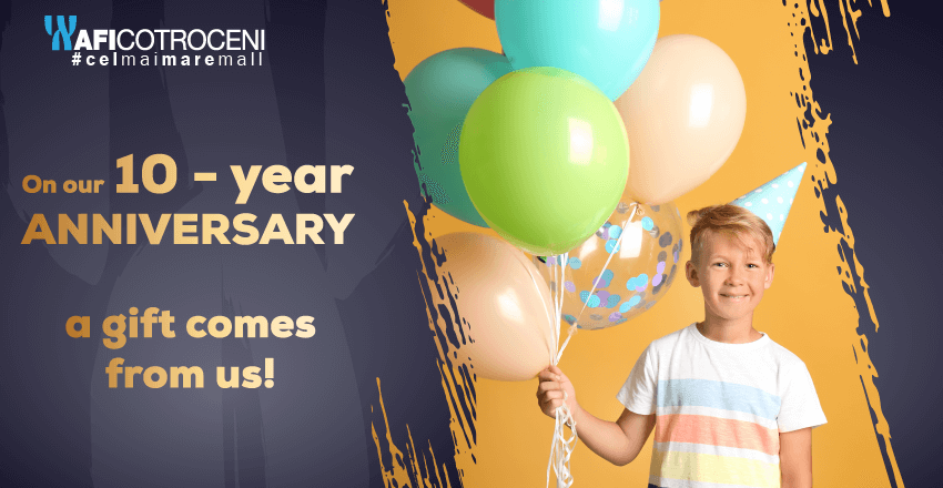 On our 10 years anniversary, a gift comes from us!