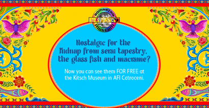 Nostalgiac for the Serai Kidnapping tapestry, the glass fish and macrame?
