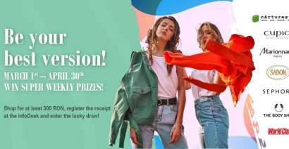 Be your best version! Win super prizes!