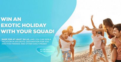 Win an exotic holiday with your squad