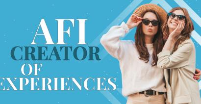 AFI CREATOR OF EXPERIENCES
